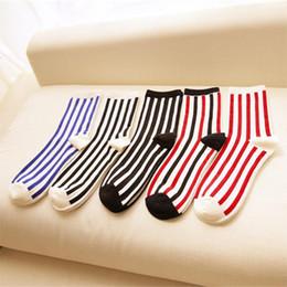 Wholesale-Wholesale Vertical Strips Men's Socks Fashion Sport Socks For Men Basketball Socks Classical Socks Slippers