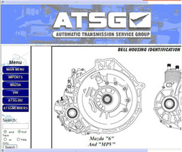 Wholesale New ATSG software car diagnostic software contains the information from firm Automatic Transmision Service Group on repair diagnostics se