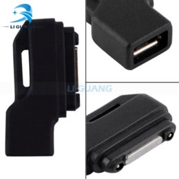 Newest Micro USB to Magnet Charger Adapter Converter For Sony Xperia Z3 Z2 Z1 Z Ultra Z3 Compac mini L39H XL39H