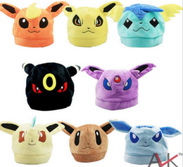 Wholesale Short plush hat paragraph according to Beibu hat Cartoon animation hat Y