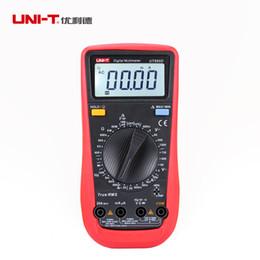 Wholesale UNI T UT890D Digital Multimeter True RMS AC DC Voltage Current Resistance Testers