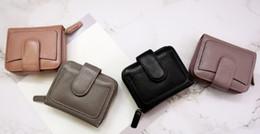New best selling leather short wallet purse wallet wallet card package