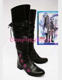 Wholesale Newest Custom Made Japanese Anime Katekyo Hitman Reborn D Spade Cosplay Shoes Boots For Christmas Halloween Festival CosplayLove