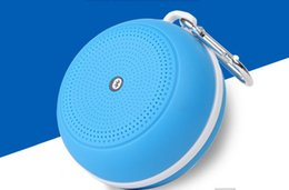 Wholesale Portable Waterproof Wireless Bluetooth Speaker Shower Car Handsfree Receive Call Music Suction Phone Mic