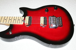 New Arrival Black Cherry Electric Guitar High Quality Wholesale Musical instruments