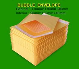 Acolchada electrónico en Línea-Las PC de la venta al por mayor-100 110x130 + 40m m rellenaron los ENVÍOS de la BURBUJA de los envíos de la burbuja de los bolsos de los sobres de la burbuja de KRAFT QUE ENVÍAN EL BOLSO del SOBRE Envío libre