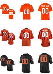 Men's Women Youth Kids Oklahoma State Cowboys Personalized Customized College Cheap jersey Black Orange Top Quality Drop Shipping Cheap