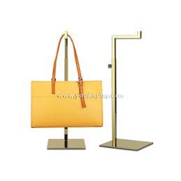 Wholesale bag stand handbag display bag display rack bag holder stand metal handbag hanger hooks for handbag bag hanger