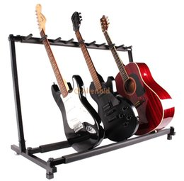 Wholesale New Guitar Stand Holder Guitar Folding Stand Rack Stage Bass Acoustic Guitar