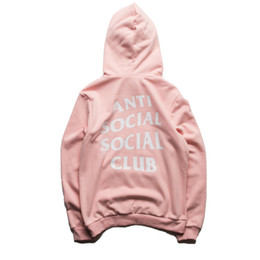 Wholesale Summer Kawaii Anti Social Club Palace Anime Men Hoodie Hip Hop Streetwear Hoodie Jogging Men Pullover YEE ZUS Sport Women Hoodies