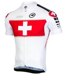 Wholesale Online Men Cycling Jersey Assos Bike Term Bicycle Jerseys Short Sleeve Rider Clothing Mountain Sports Ropa Ciclismo Maillot