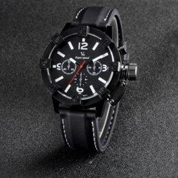 2017 la montre-bracelet pour hommes erkek kol Saatleri 2016 V6 Luxe Marque Hommes Quartz Montres militaire montre-bracelet de mode étanche montres Sport Horloge d'extérieur