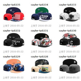 Free Shipping by DHL 2016 New designs Cayler & Sons team Snapbacks Snapback hats caps Snap back cap hat cap Mixed Order size Adjustable