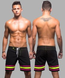 Wholesale andrew christian Brand swimwear shorts men Casual polyester Loose Pockets Elastic surf Shorts gym Sport Short Trousers AC7364