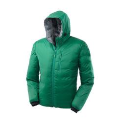 Wholesale Brand New Men Lodge Hoody Ultra Light Travel Mountaineer Portable Warm Coat Goose Down Casual Outwear Outdoor Sweatshirt