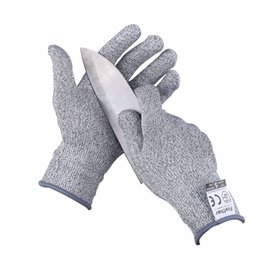 Wholesale Finether New Arrival Pair Working Protective Gloves Cut resistant Anti Abrasion Safety Gloves Anti Cut Gloves