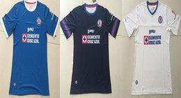 Wholesale Mexico club Cruz Azul blue white soccer football jersey thai quality Cruz Azul Home Away rd soccer Jersey football Shirt DHL ship