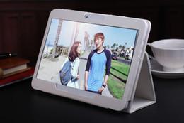 Acheter en ligne Pc hd-10 pouces de téléphone 3G d'origine appel Android Quad Core HD tablette pc Android 4.4 2 Go de RAM 16 Go ROM WiFi GPS Bluetooth Tablet PC