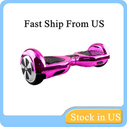 Scooter Electroplating Colors Smart Self Balancing Electric Scooter Electroplated Electric Skateboard Fast Ship From US Warehouse