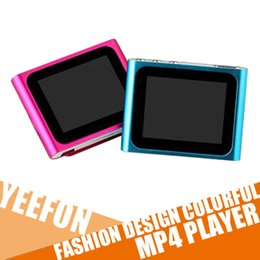 Wholesale 1 inch TFT LCD gen clip Mp3 Mp4 Player Music video AMV players Mp4 Mulitimedia Player Manual