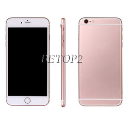 Wholesale 4 inch Goophone6s i6s G WCDMA MTK6582 Quad Core GHz IOS UI GB RAM Screen DHL