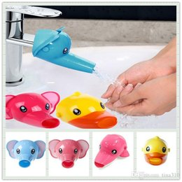 Wholesale Wholesal Children Faucet extension baby hand washing to guide sinks handwash switch water rap extension mouth tap fittings A0337