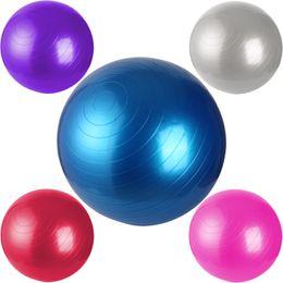Wholesale 45 Cm YOGA Aerobic Exercise Balance Ball Pilates Fitness Anti Burst Pump