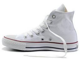 Altos tops hombres 45 en venta-2016 DORP ENVÍO NUEVO 35-45 Nueva unisex de alta Top adulto de las mujeres de los hombres de la lona de los zapatos corrientes 13 colores ató los cordones de los zapatos ocasionales de la zapatilla de deporte