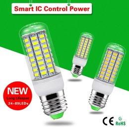 Wholesale E27 LED Corn Bulbs Light LEDs SMD Led Bulbs AC V V Replace CFL Lamps
