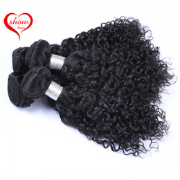 Brazilian Jerry Curly Hair Natural Color Peruvian Malaysian Indian Cambodian Jerry Curly Human Hair Extensions 100% Human Hair Wefts