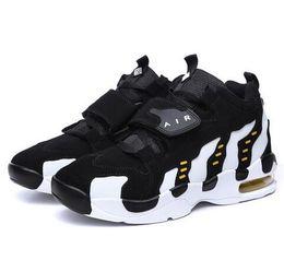 Wholesale Hot sale new design women basketball shoes men Basketball Shoes air sole mens basketball sneakers