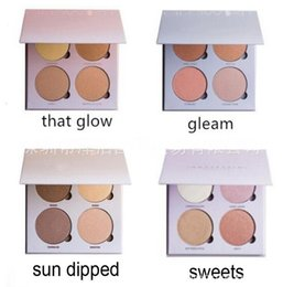 Wholesale lowest price New Arrivals makeup MIX Beverly Hills Gleam That Glow SUN DIPPED SWEETS Kit color Bronzers Highlighters palette g