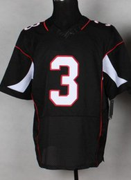 Wholesale Carson Palmer Black Football Jerseys Elite Men s Football Shirts Cheap Football Wear High Quality Athletic Apparel Hot Sale Jerseys