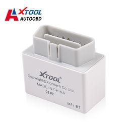 Wholesale Professional EOBD2 IOBD MINI Diagnostic XTOOL Original iOBD2 MFI BT Bluetooth Connection For Android iOS OBD2 Code Reader