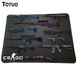 Wholesale custom CS GO mouse pad Boy Gift pad to mouse notbook computer mousepad band gaming padmouse gamer to laptop keyboard mouse mats