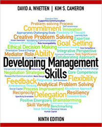 Wholesale Developing Management Skills th Edition th Edition by David A Whetten Author Kim S Cameron Author