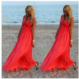 Sexy Women Summer Boho Long Maxi Evening Party Dress Beach Dresses Chiffon Dress free shipping