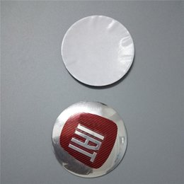 Aluminum Car Sticker for FIATS 124 125 125 500 695 OT2000 56.5mm High Quality Car Stickers