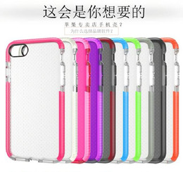 Wholesale For iphone7 Evo Mesh Case for iPhone iPhone Plus Soft TPU Material with Retail Bag