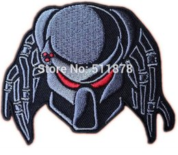 Wholesale 3 quot PREDATOR ALIEN ARNOLD Movie TV Series Embroidered iron on patch cosplay transfer COMICS APPLIQUE PARTY FAVOR