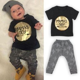 Wholesale 0 M Toddler Baby Infant Mamas Boys Jumpsuit Outfit Sets Romper Newborn UK