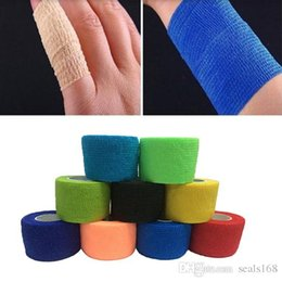 Wholesale Bandage finger Wrist Support Soccer Basketball Sport Ankle Elbow Kneepad Waist Tape Size Choose JS B01