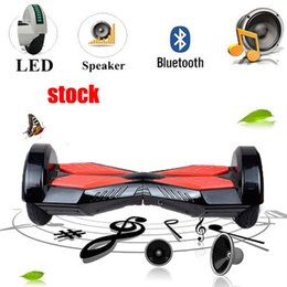 Stock CN scooter hoverboard bluetooth 8 Inch Hoverboards Self Balancing Scooters Smart hoverboard Electric Bluetooth Speaker Skateboard