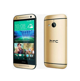 Refurbished Original HTC One M8 Mini 2 Quad core Cell Phone 1GB 16GB 4.5 inch 13MP 1280 x 720 Android 4.4 Qualcomm Snapdragon 400