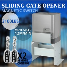 Wholesale Newest Design Heavy Duty automatic Sliding Gate Opener Electric Operator Driveway Door