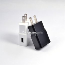 Wholesale For Samsung S6 NOTE4 FAST CHARGER V A Adaptive Fast Charging USB Travel Wall Charger AC Power Adapter With EU US Plug