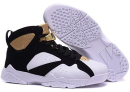 Wholesale 2016 new Cheap Mens Air Retro s platinum Olympic Games Champagne CIGAR Raptor VII Basketball Shoes Size US