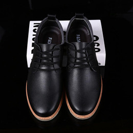 Italian Fashion Leather Men Shoes Point Toe Elegant Qualit Leather Mens Dress Flats Shoes Oxford Shoes For Men