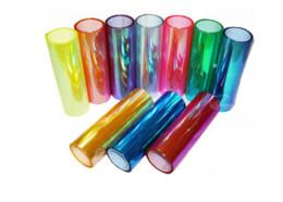 Changement de couleur des phares à vendre-Date 150x30cm Shiny Chameleon Car Styling Phares Taillights Translucent Film lumières allumées Changer la couleur Auto Autocollants