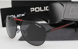 Wholesale 2016 Cool Hot New men s Police polarized sunglasses Driving glasses colors